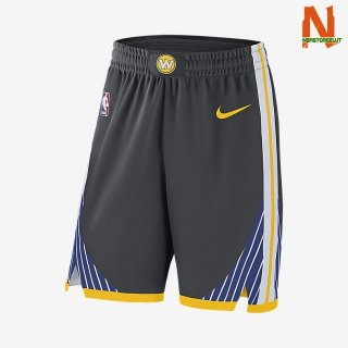 Vendite Pantalonii NBA Golden State Warriors Nike Nero