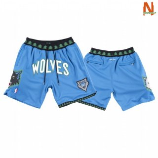 Vendite Pantalonii NBA Minnesota Timberwolves Just Don Blu 2003-04-