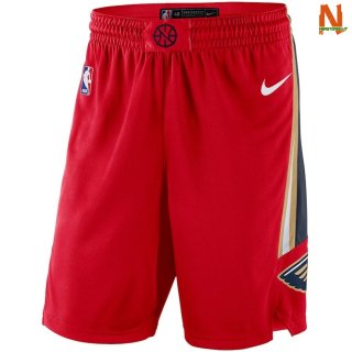 Vendite Pantalonii NBA New Orleans Pelicans Nike Rosso Statement 2018