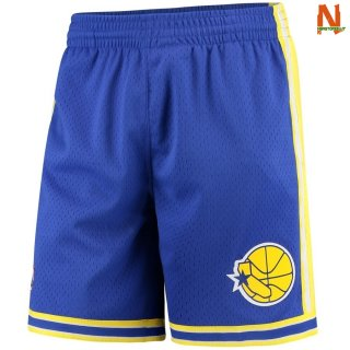 Vendite Pantalonii NBA Golden State Warriors Blu Hardwood Classics
