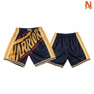 Vendite Pantalonii NBA Golden State Warriors Big Face Marino Hardwood Classics