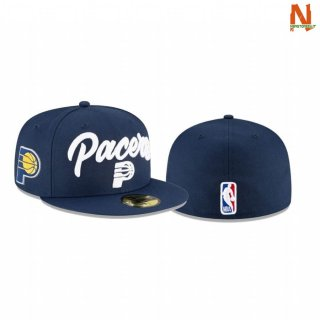 Vendite Cappelli NBA Indiana Pacers OTC 59FIFTY Fitted Marino 2020