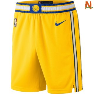 Vendite Pantalonii NBA Golden State Warriors Arancia Hardwood Classics