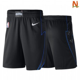 Vendite Pantalonii NBA Orlando Magic Nike Nero Nero