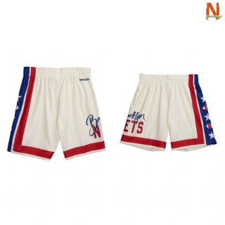 Vendite Pantalonii NBA Brooklyn Nets Joey Bada$$ X BR Remix Bianco