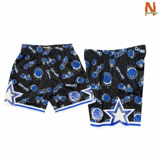 Vendite Pantalonii NBA Orlando Magic Tear Up Nero Hardwood Classics