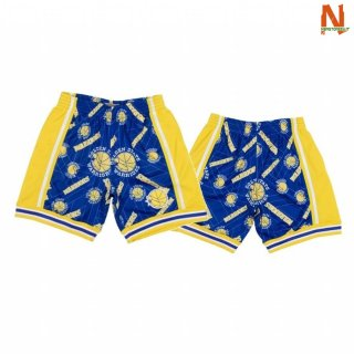 Vendite Pantalonii NBA Golden State Warriors Tear Up Pack Blu Hardwood Classics