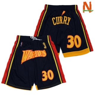 Vendite Pantalonii NBA Golden State Warriors Curry Nero