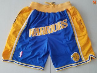Vendite Pantalonii NBA Golden State Warriors Curry Blu