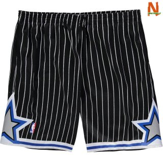 Vendite Pantalonii NBA Orlando Magic Blu Hardwood Classics