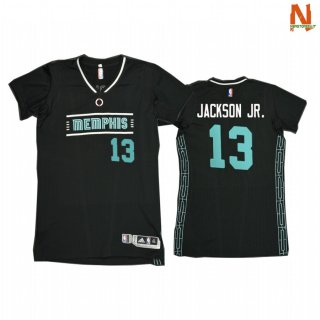 Vendite T-Shirt NBA Memphis Grizzlies NO.13 Jaren Jackson Jr. MLK50 Pride Honor King Marino 2021
