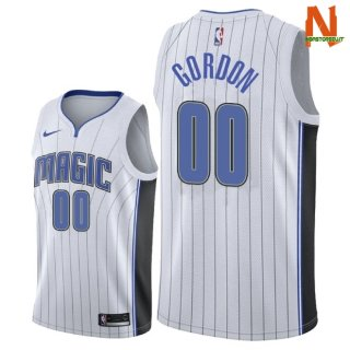 Vendite Maglia NBA Orlando Magic NO.0 Aaro Gordon Bianco Association 2018