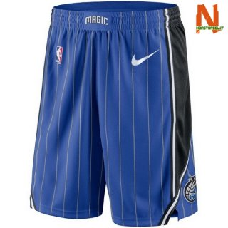 Vendite Pantalonii NBA Orlando Magic Nike Blu