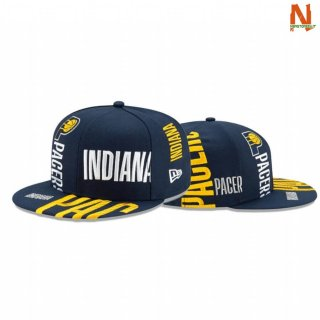 Vendite Cappelli NBA Indiana Pacers TIP OFF SERIES 59FIFTY FITTED Blu 2020