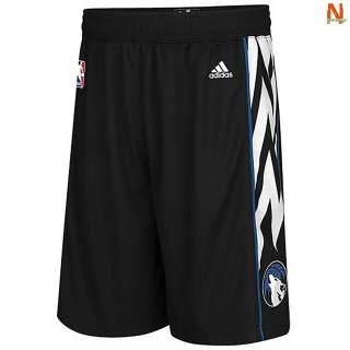 Vendite Pantalonii NBA Minnesota Timberwolves Lights out Nero 2020
