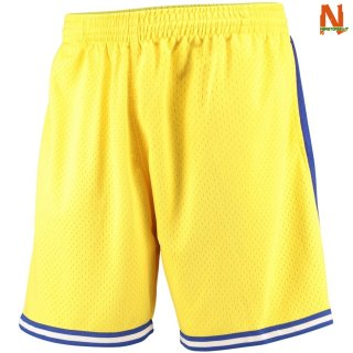 Vendite Pantalonii NBA Golden State Warriors Giallo Hardwood Classics