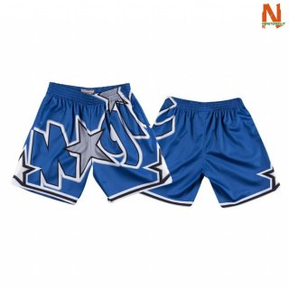 Vendite Pantalonii NBA Orlando Magic Big Face Blu 2020